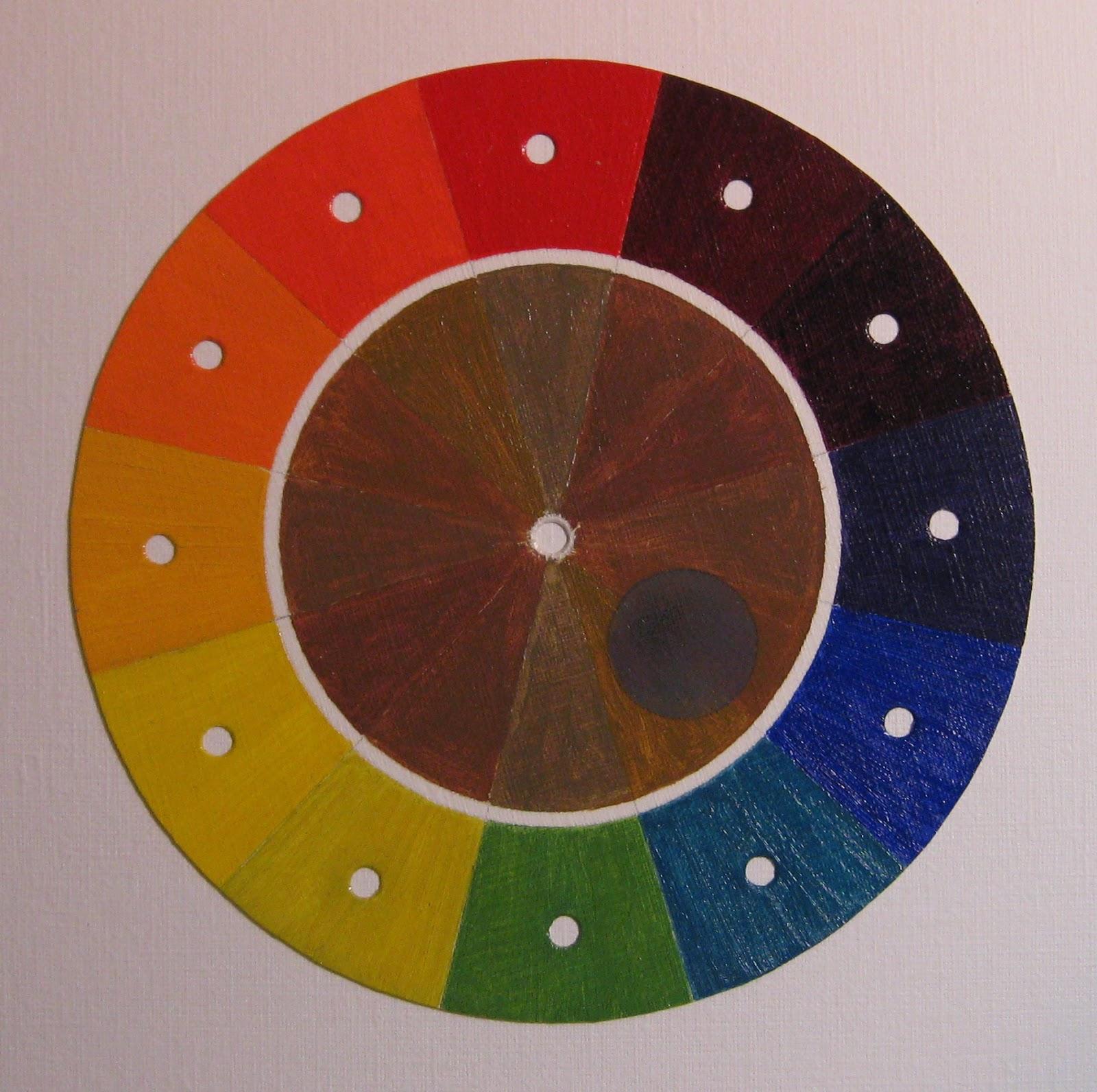 Probablemente pintura la rueda de colores - Rueda de colores ...