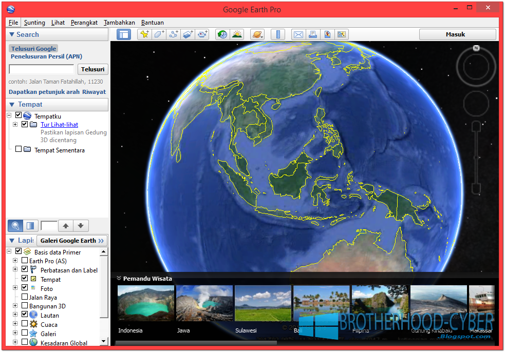 Google Earth - Free Download for Windows 10 64 bit