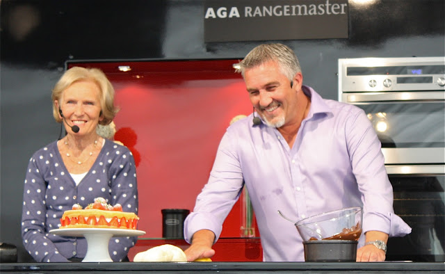 Mary Berry and Paul Hollywood Come to Bolton