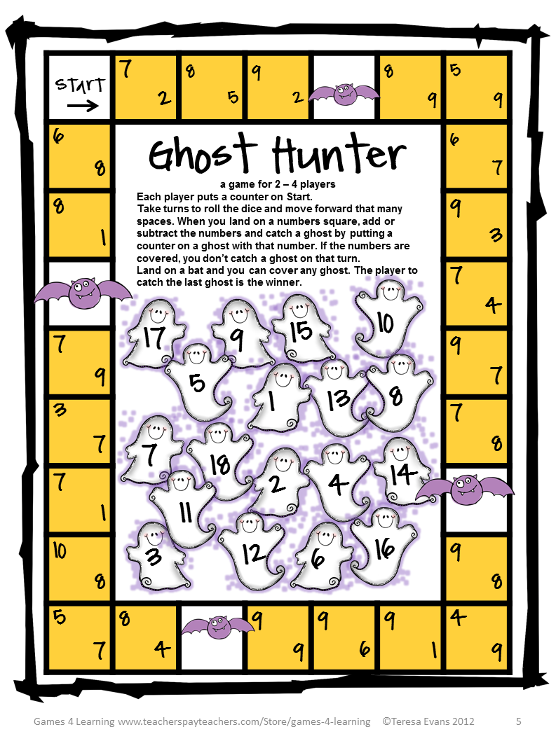 math worksheet : fun games 4 learning october 2014 : Halloween Fraction Worksheets