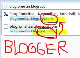Nah Lho, Blogspot.com Berubah Menjadi Blogspot.co.id