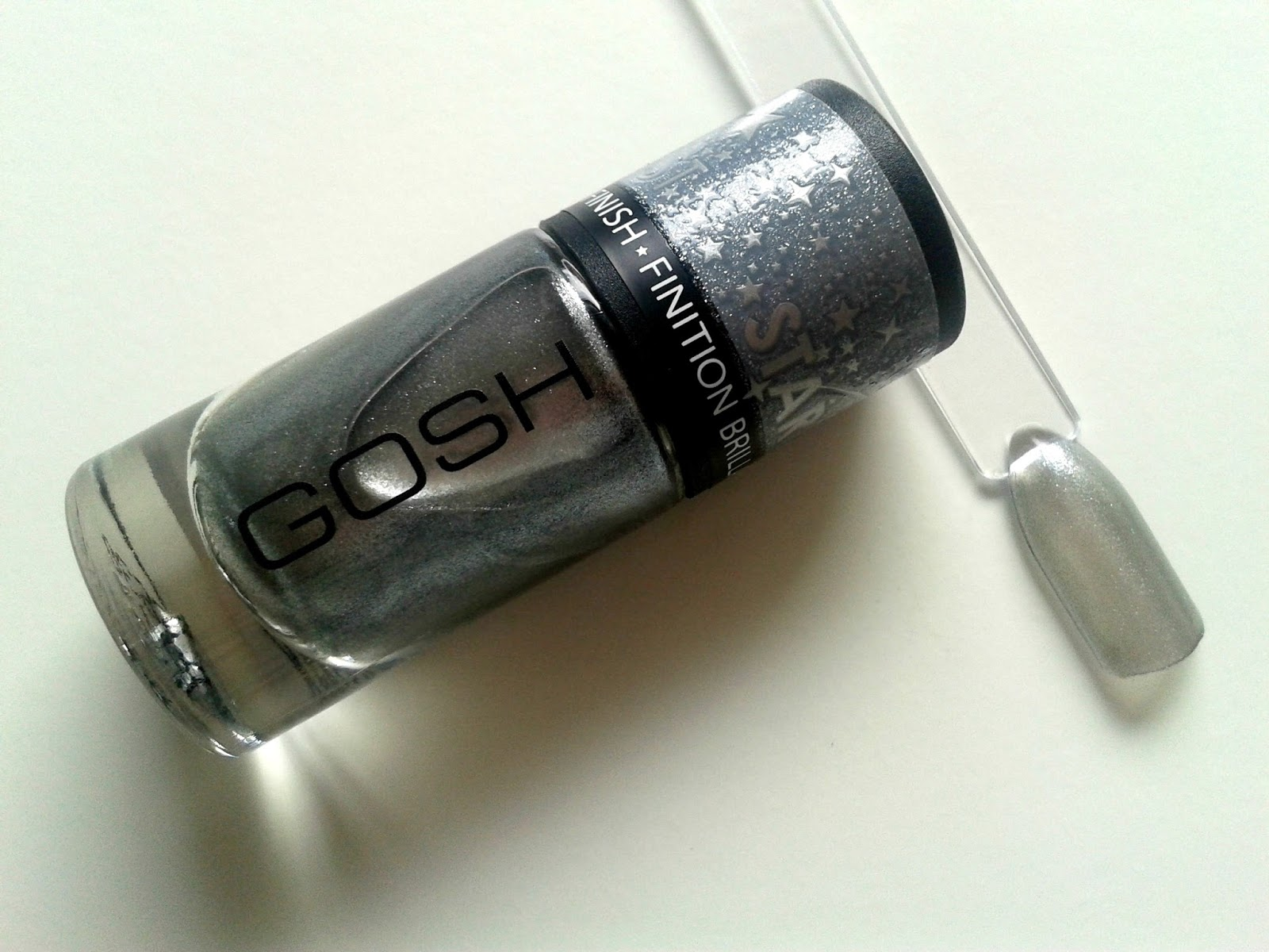 GOSH Nail Polish in Moonlight (630) Beauty Review Swatch Stardust Collection