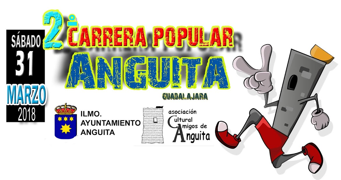 II CARRERA POPULAR ANGUITA 2018