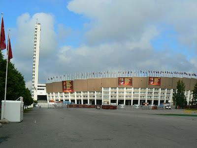 Imagini Finlanda: stadionul olimpic Helsinki