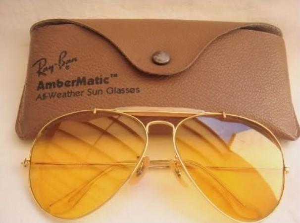 occhiali ray ban lenti gialle