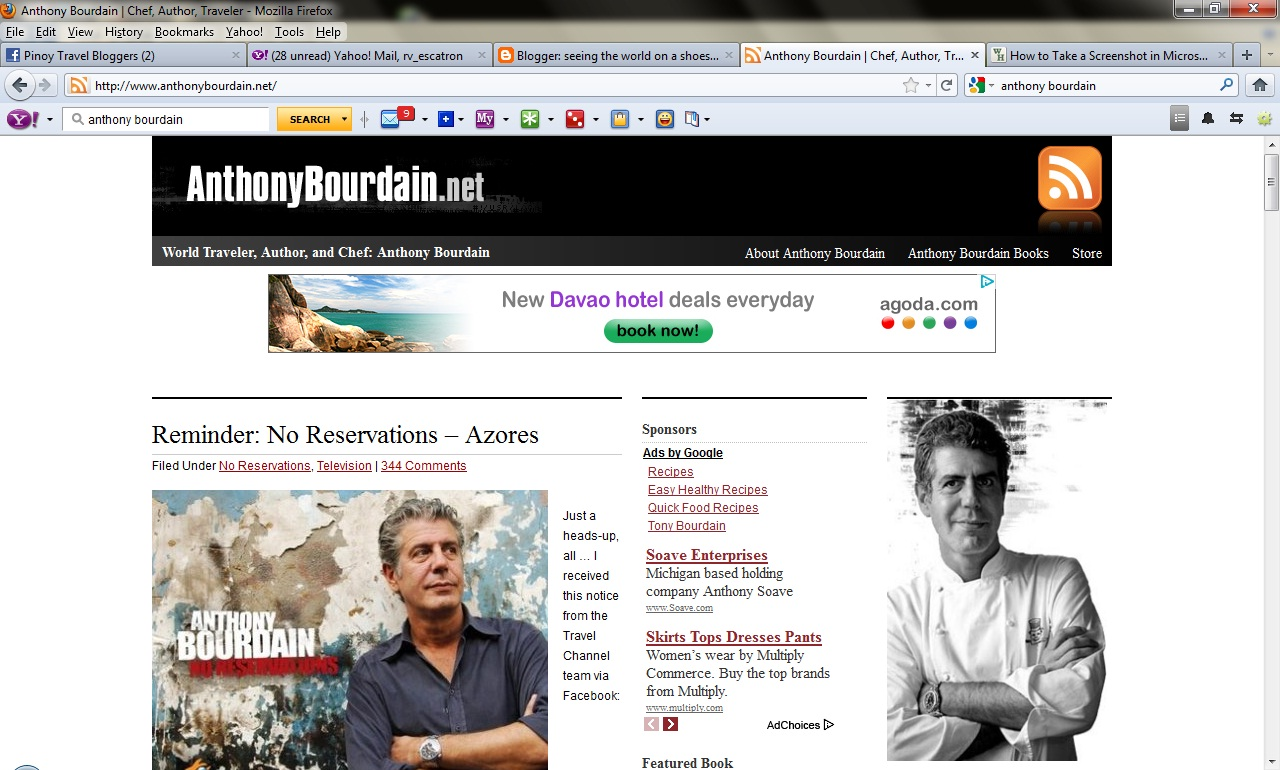 Reminder No Reservations Azores Anthony Bourdain - HD1280×770