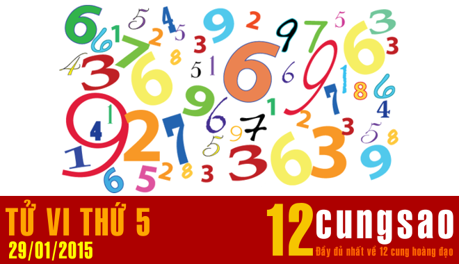 Tử vi Thứ Năm 29/1/2015 - 11 Thần Số hàng ngày
