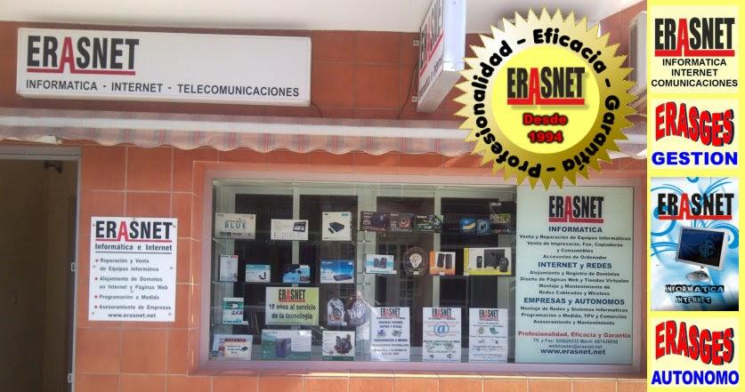 ERASNET - INFORMÁTICA e INTERNET - a su servicio desde 1992