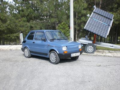 murat orhon e-bis, güneş enerjisi ile çalışan otomobil, fit 126 bis, şarklı araba, yeşil enerji