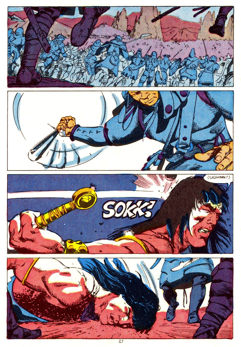 Conan the Barbarian (1970) Issue #207 #219 - English 21