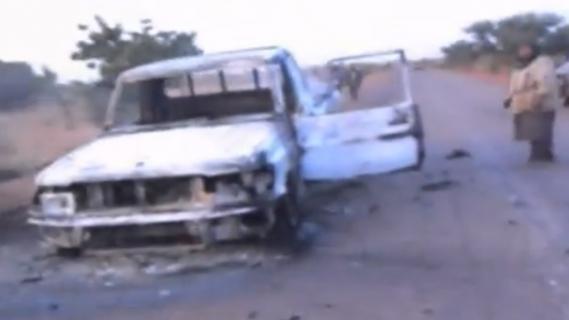 premières images après les frappes françaises au Mali