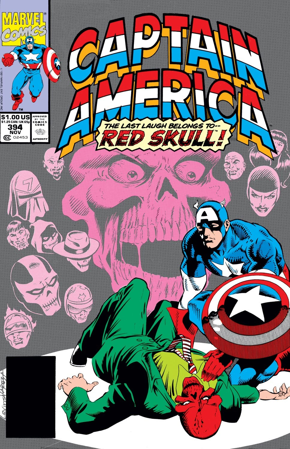 Captain America (1968) Issue #394 #327 - English 1
