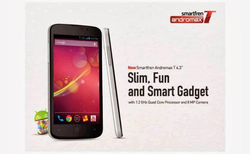 Harga Smartfren Androidmax T