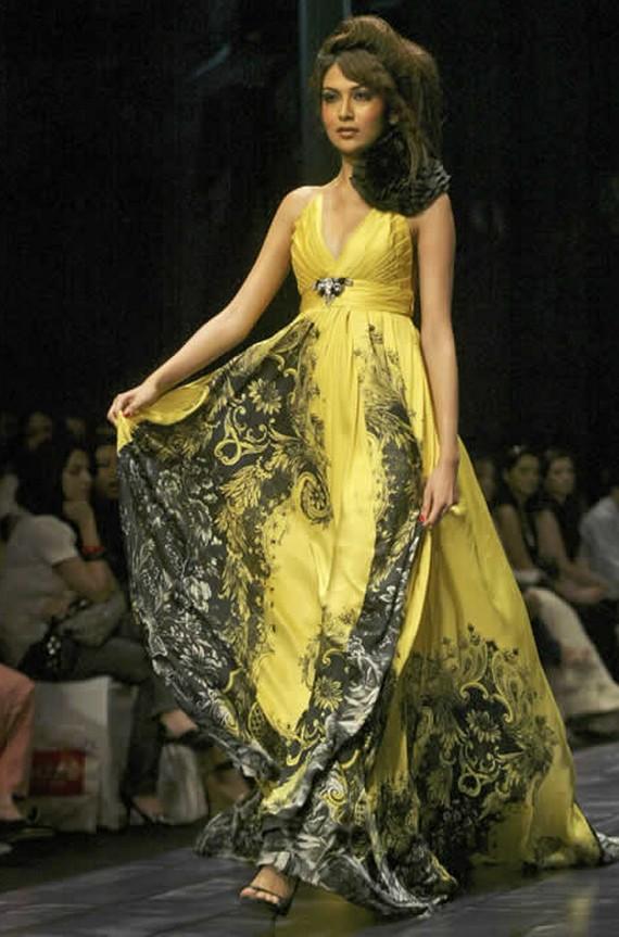 Восточный мода платья
