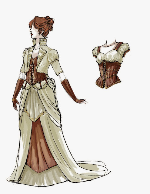Epbot two steampunk weddings for Where can i get my wedding dress steamed
