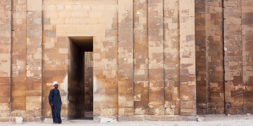 Dzsószer fáraó halotti komplexuma. Szakkara, Egyiptom.
