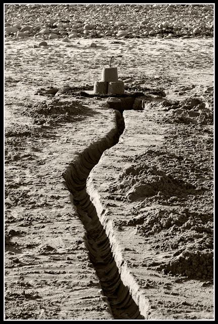 Nova Scotia; Hirtle's Beach; Sand Castle