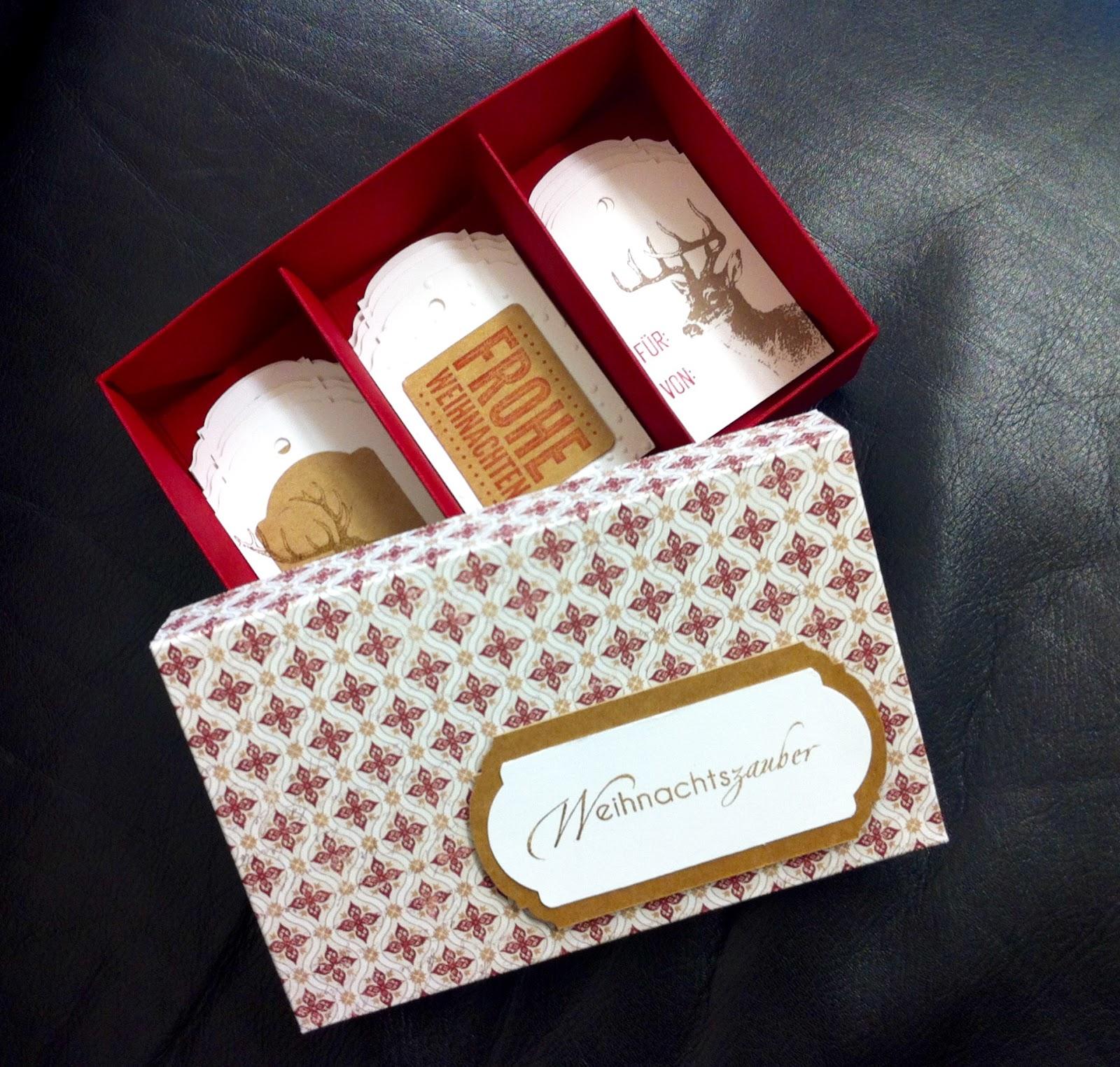 Haus voller ideen geschenkanh nger in der box for Weihnachtsgeschenke absetzen