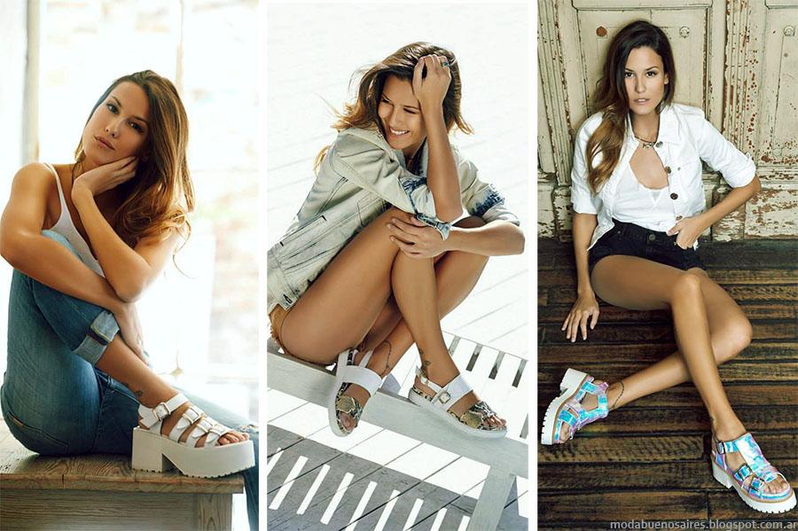 Sandalias y panchas primavera verano 2015, Anca & Co primavera verano 2015. Moda y Tendencias en Buenos Aires Blog. Moda Argentina 2015.
