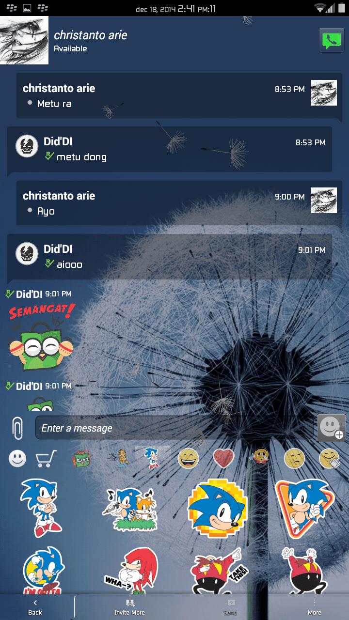 BBM Mod v2.6.0.30 FULL Transparent APK Terbaru
