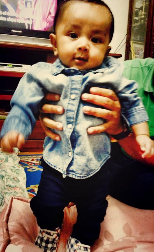 Aqil @ 4 months