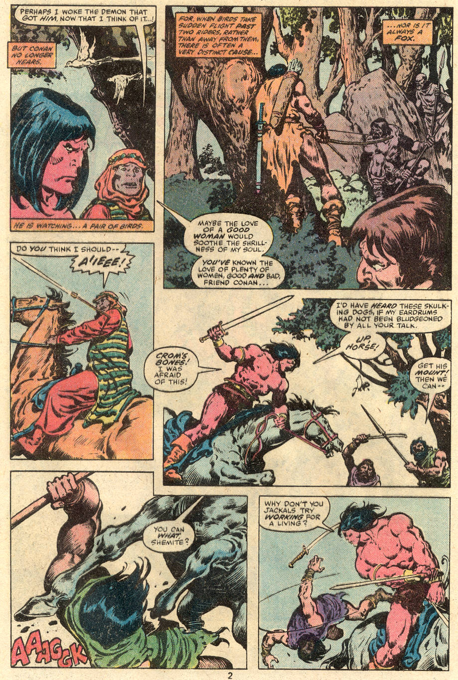 Conan the Barbarian (1970) Issue #113 #125 - English 3