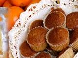 Magdalenas de Naranjas sin Huevo