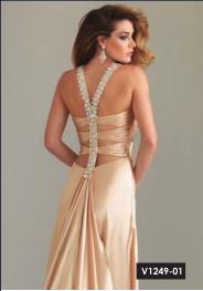 Vestido de Fiesta Sexy para Fin de Año 2012