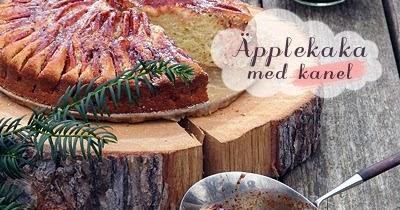 Gâteau d'inspiration suédo-bretonne, aux pommes et à la cannelle, pour l'hiver qui approche...