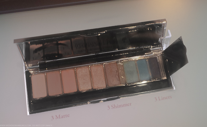 Lancome My French Palette Eyeshdow Liner Palette Swatches Spring 2015 Makeup Collection