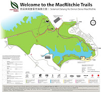 MacRitchie Park trail map