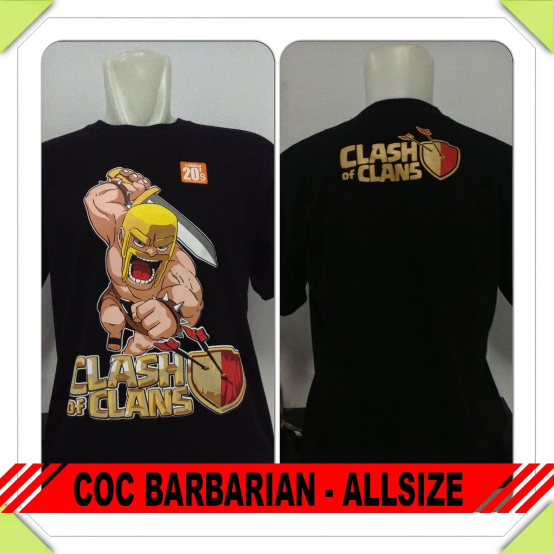 Baju COC Barbarian