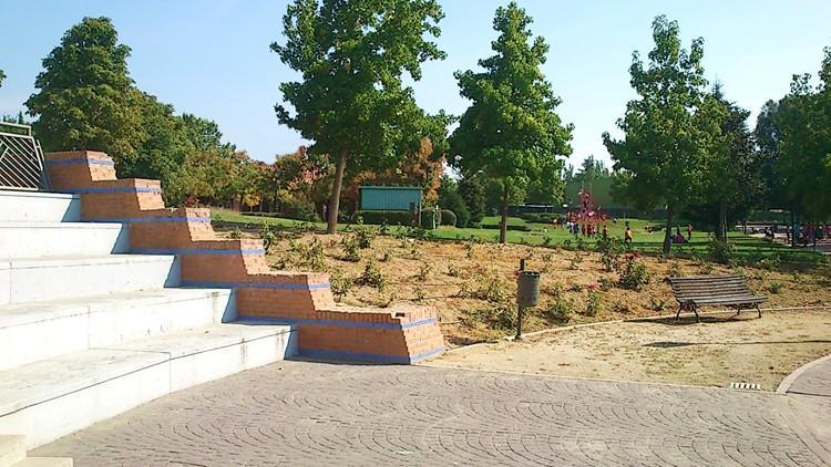 proyecto parque las desueltas boadilla del monte madrid gradas