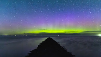 Aurora Borealis in Friesland