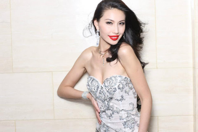 Ji Dan Xu miss china 2012