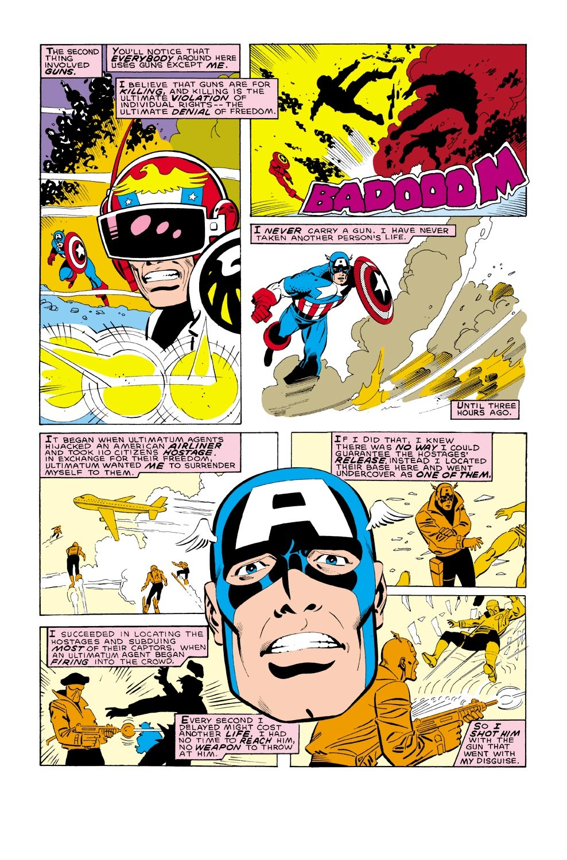 Captain America (1968) Issue #322 #250 - English 5