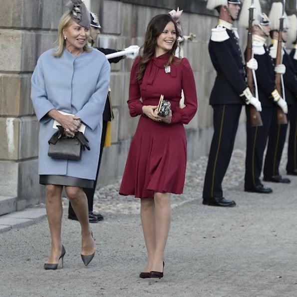 Princess Sofia Style GUCCI Silk Crepe Dress