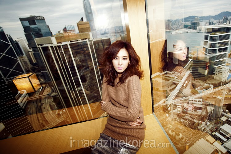 Kim Nam Joo - Harper's Bazaar Magazine May Issue 2014