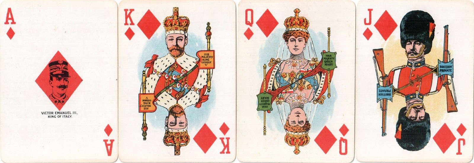 Medieval Playing Card Designs