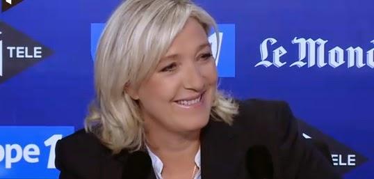 Le Grand rendez-vous-Supporters algériens/Marine Le Pen: