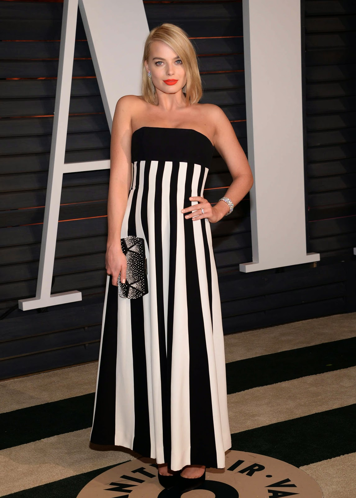Margot Robbie – 2015 Vanity Fair Oscar Party in Hollywood