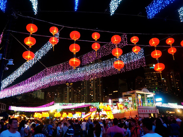 Light & lantern displays | Hong Kong Urban Mid-Autumn Festival in Victoria Park