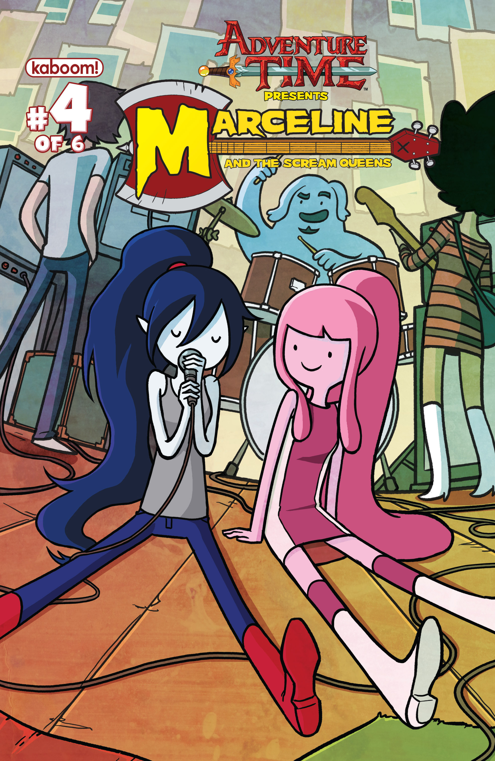 Adventure Time: Marceline and the Scream Queens 4 Page 1