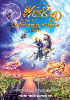 Winx 3D La aventura mágica