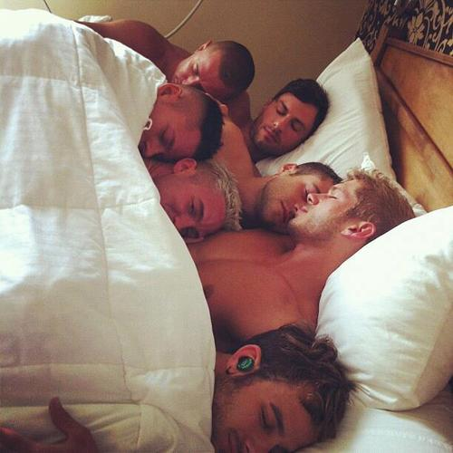 Gay blog sleeping men