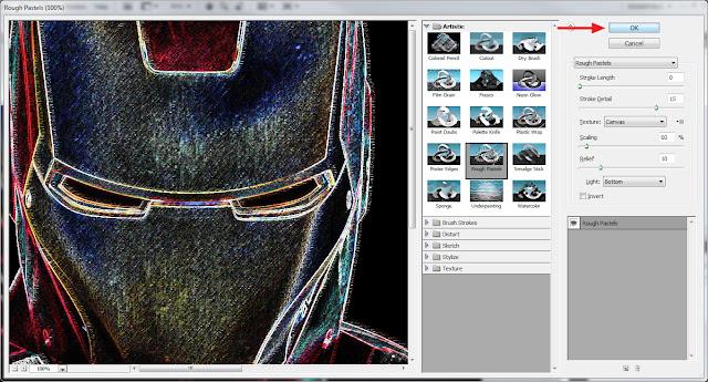 Cara Membuat Efek Kapur di Photoshop