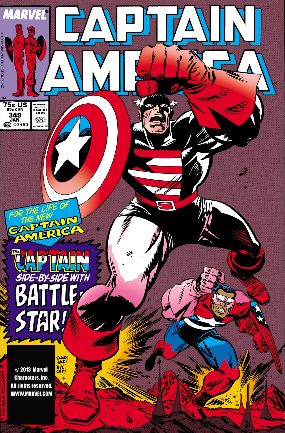 Captain America (1968) Issue #349 #281 - English 1