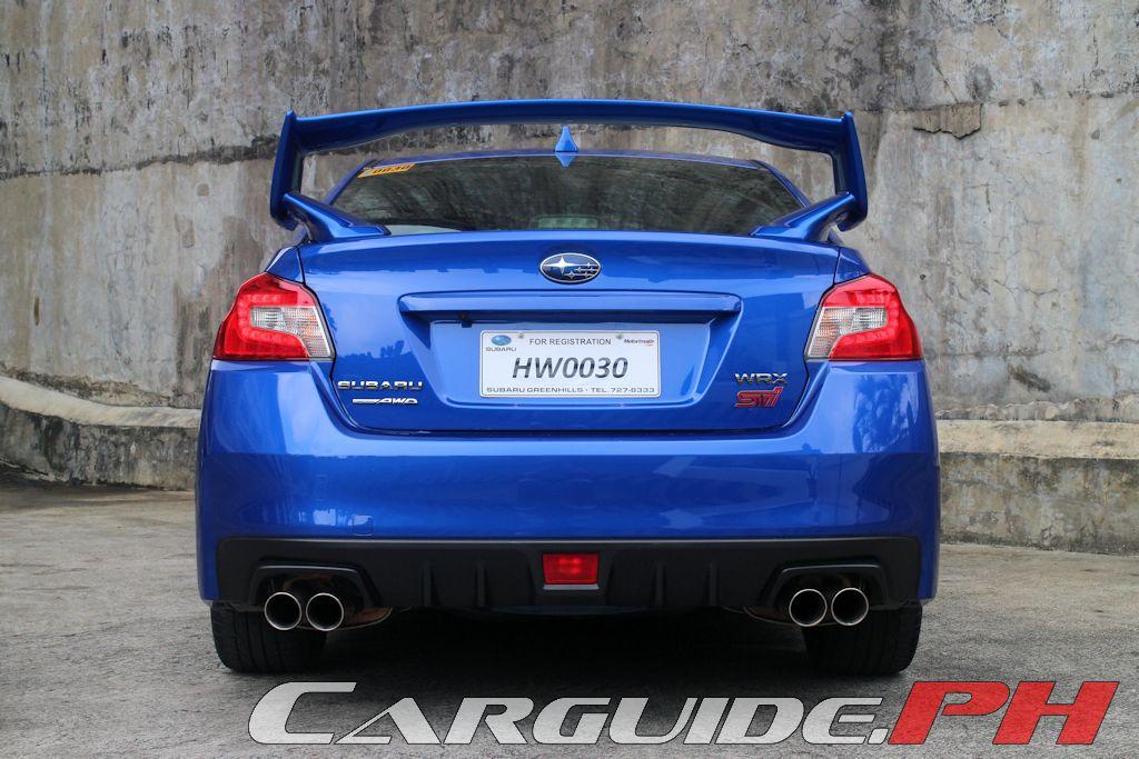 Review 2015 Subaru Wrx Sti Philippine Car News Car