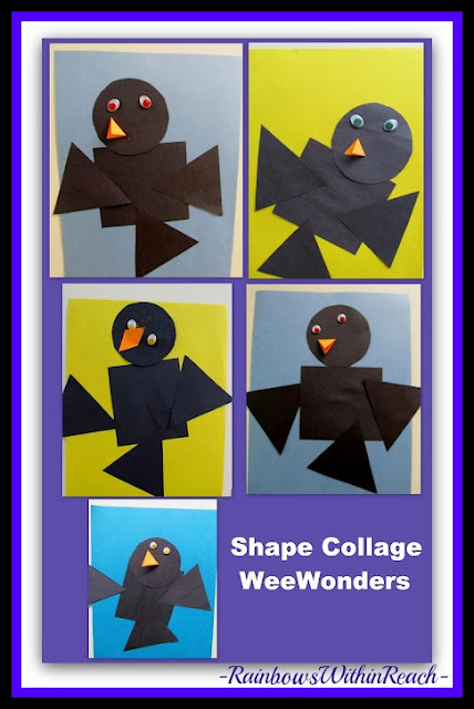 photo of: Fall's Birds from Simple Shapes (Fall RoundUP via RainbowsWithinReach)