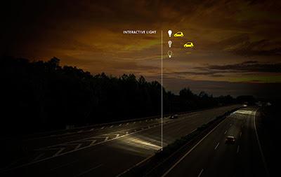 etkileşimli ışıklar